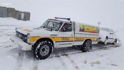 با همکاری پلیس راهور؛ اجرای طرح زمستانی امداد خودرو ایران